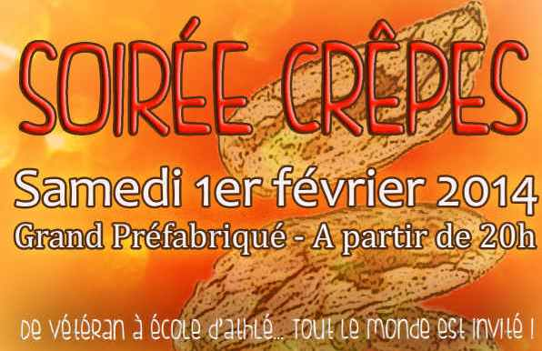 affiche soiree crepes
